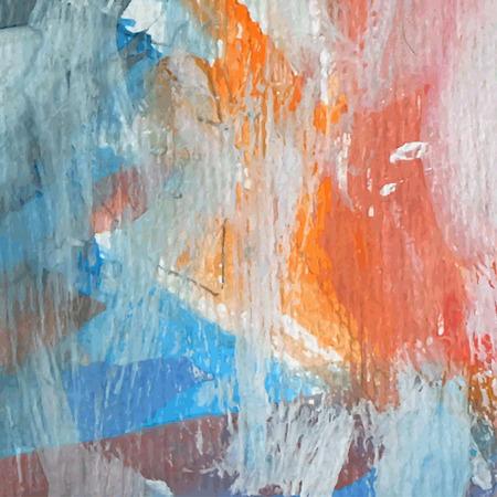 Aquarel Abstracte kleurrijke achtergrond vector illustratie