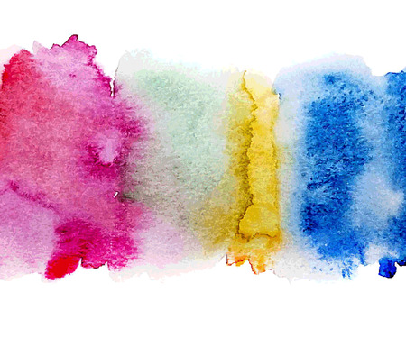 Abstract watercolor splash. Watercolor drop.