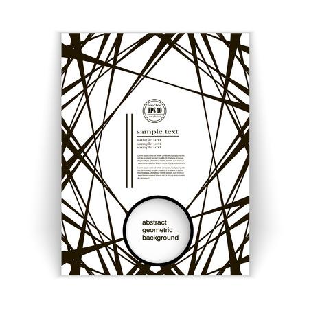 minimalist design: eps10 vector spacious abstract concept background, minimalist design brochures