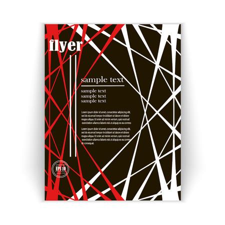 minimalist design: vector spacious abstract concept background, minimalist design brochures