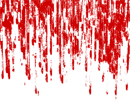 spattered: vector background with blood stains Illustration
