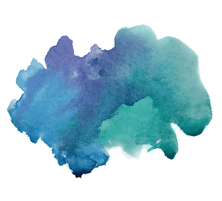 Abstract stylish watercolor background. Vector illustration