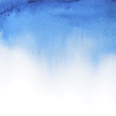 Resumen de vectores dibujados a mano de fondo de acuarela. Modelo de la bandera azul de la acuarela. Pintura. Chapoteo de la acuarela. Ilustración del vector con el espacio vacío para el texto. Foto de archivo - 39520538