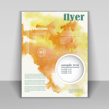 brochure design Illusztráció