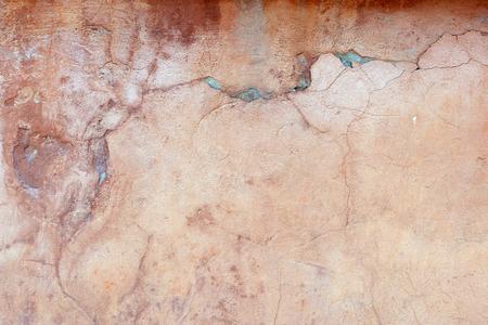 Fondo de la pared de la vendimia hormigón agrietado, viejo muro Foto de archivo