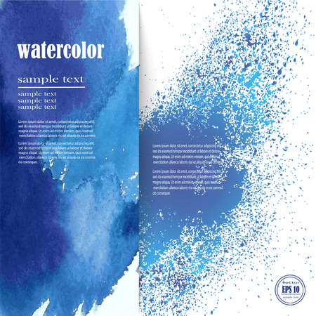 Abstract watercolor hand paint texture, watercolor drop