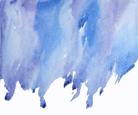 Aquarel plek. Vector illustratie.