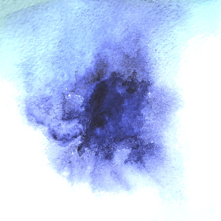 Watercolor abstract stains for your design Stock Illustratie