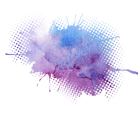 splash abstract: Abstract watercolor splash. Watercolor drop.