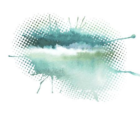 Aquarell abstrakten Hintergrund Standard-Bild - 41817377