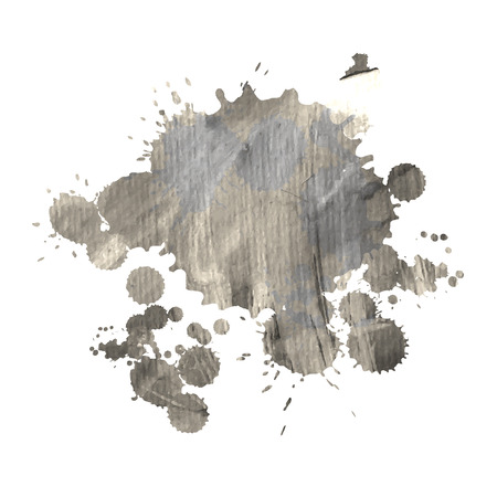 paint drop: Abstract watercolor hand paint texture, isolated on white background, watercolor textured backdrop, watercolor drop, Illustration