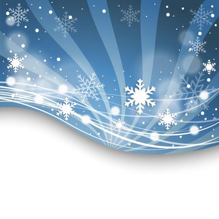 holiday season: Beautiful Christmas New Year card. Vector illustration.