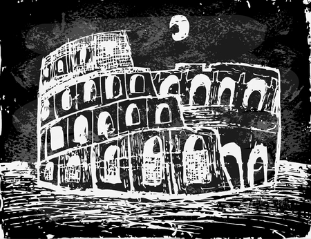 rome italy: Coliseum in Rome, Italy.