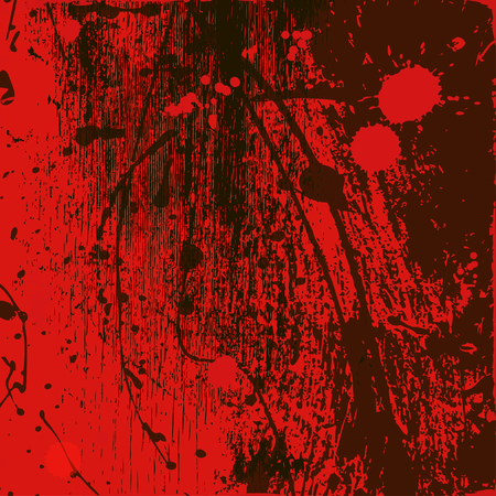 red background from paint spots Ilustração