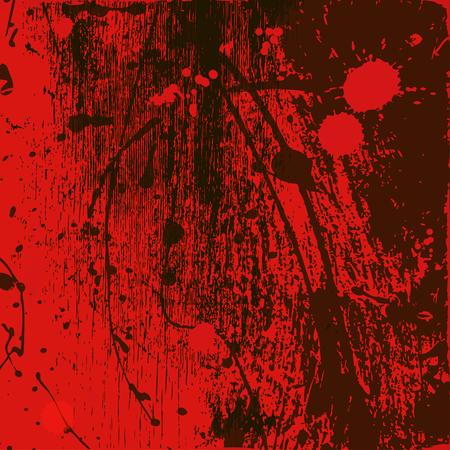 rode achtergrond van verfvlekken