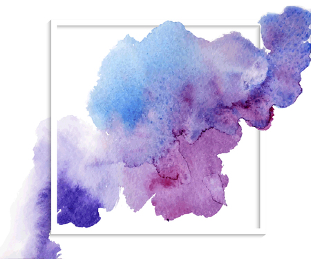 splash page: Abstract vector template design, flyers, brochure, web sites, page, leaflet, with colorful watercolor paint splash.