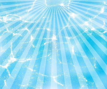sunburst blue vector