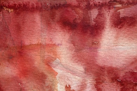 bright: bright red watercolor background Stock Photo