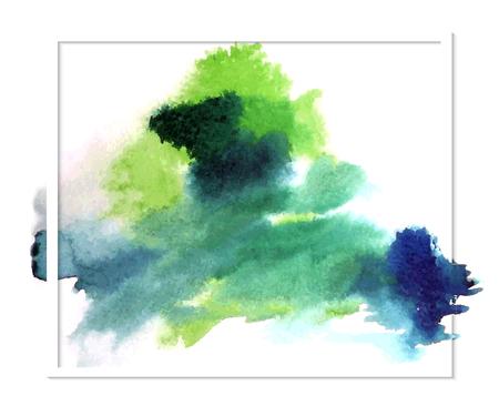 spot: Watercolor spot. Vector illustration.