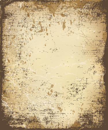 rifts: aging paper texture, vector illustration