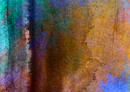 unrepeatable: multicolored watercolor painted background texture