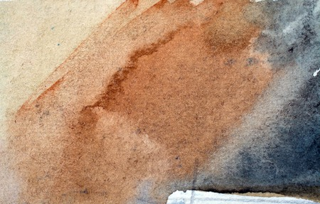 artistic background: Abstract artistic brown watercolor background