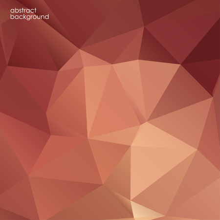ruby: Pattern red color geometric style. Abstract polygonal background. Illustration