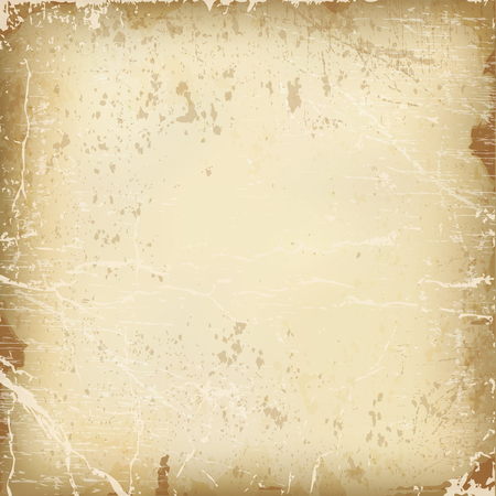 vector textuur van het oud papier.