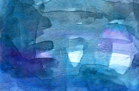 techniek: Blauwe Abstracte grungetextuur