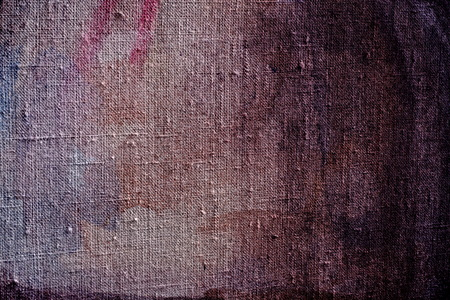 brown flax: abstract texture watercolor paint on canvas