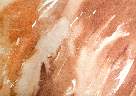 horizontal brown watercolor background