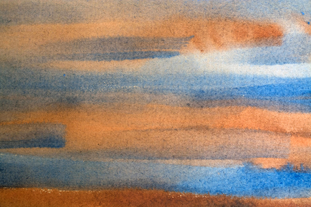 horizontal watercolor background