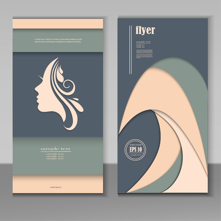 Hair and beauty salon business card design template royalty free hair and beauty salon business card design template stock vector 97929657 accmission Image collections