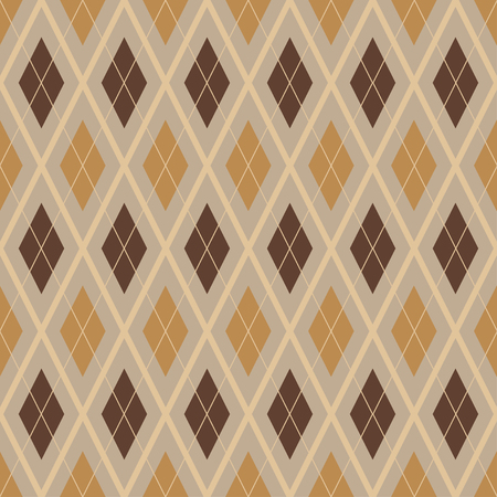 fashionable colored seamless argyle patterns