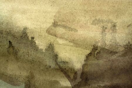 Abstract black watercolor background. Grunge watercolor texture