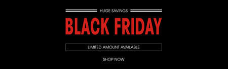 Black friday sale deals web banner Stock fotó - 47313616
