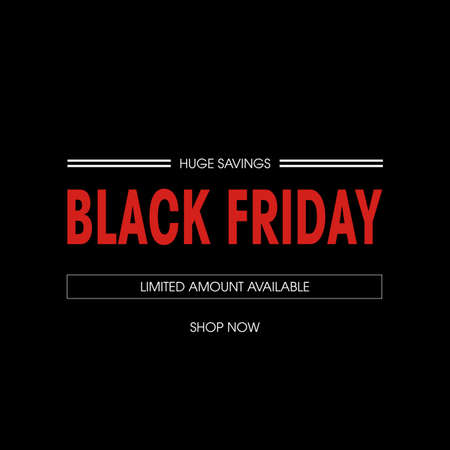 Web バナーにブラックフラ イデー セールのお得な情報します。 写真素材 - 47313617