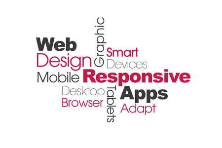 Html レスポンシブ web デザイン ワード パズル バナー 写真素材 - 47313704