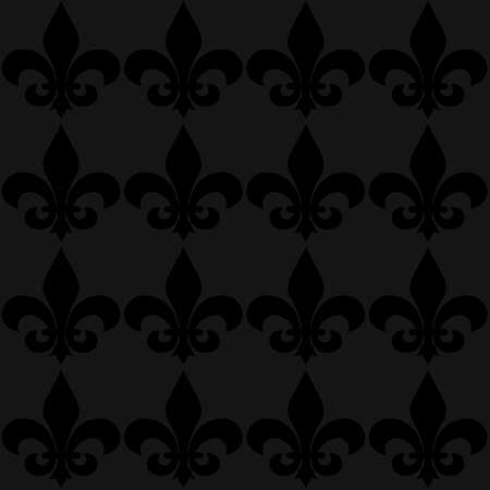 Seamless fleur de lis flower background suitable for website backgrounds