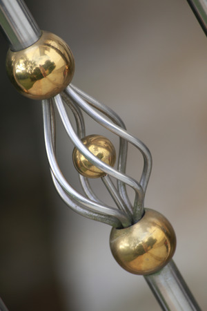 decorate: At the handrail,its decorate so beauty and luxury.