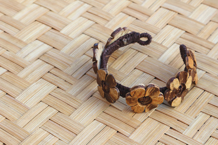 bangle: handmade bangle made from coconut shell,traditional fashine.