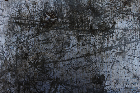 scratched: the scratched steel plate in dark tone