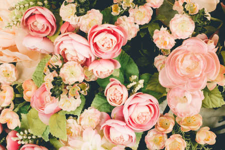 flower backgrounds - vintage effect style pictures Stockfoto