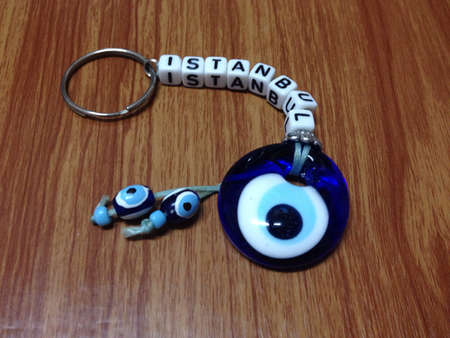 eye: Evil eye Istanbul keychain