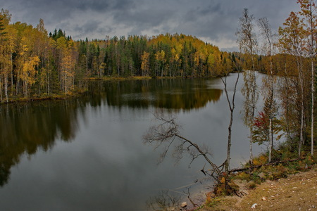 Russia. Republic of Karelia. Islands near the town of Sortavala.