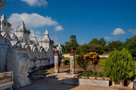 Myanmar. Hsin Phyu Shin Pagoda has been built in 1816 Banco de Imagens