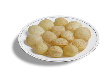 Gol Gappa indian street food photo
