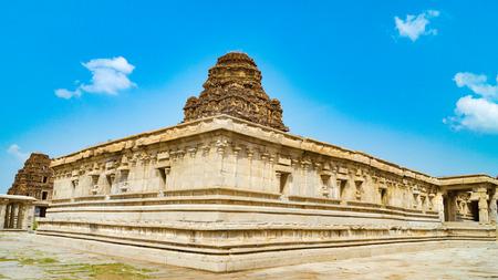 lord vishnu: Hampi - Hospet - Karnataka  -  Lord Vishnu Temple