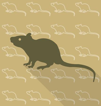 mouse trap: Rat vector