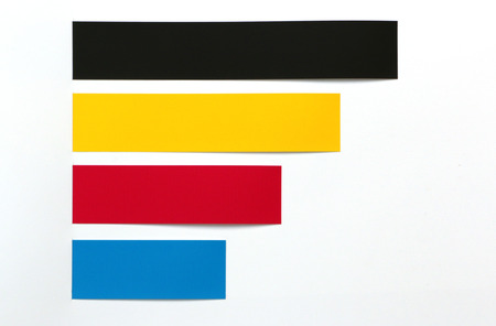 4 color printing: CMYK background color used in printing.
